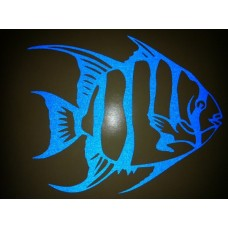 Reflective Vinyl Angel Fish