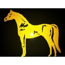 Reflective Vinyl Arabian Horse
