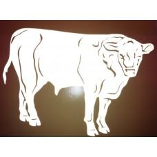 Reflective Vinyl Bull