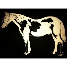Reflective Pinto Horse