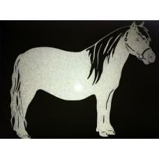 Reflective Vinyl Pony / Miniature Horse