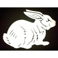Reflective Vinyl Rabbit
