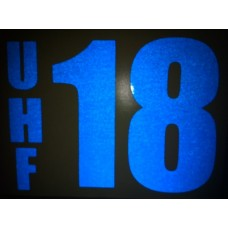 Reflective UHF Decal B