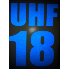 Reflective UHF Decal C