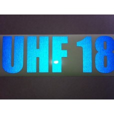 Reflective UHF Decal A